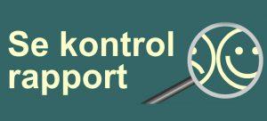 Fødevarestyrelsen kontrol raport
